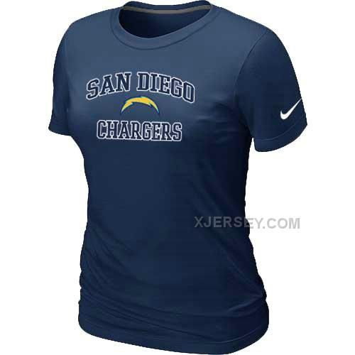 http://www.xjersey.com/san-diego-charger-womens-heart-soul-dblue-tshirt.html SAN DIEGO CHARGER WOMEN'S HEART & SOUL D.BLUE T-SHIRT Only $26.00 , Free Shipping!