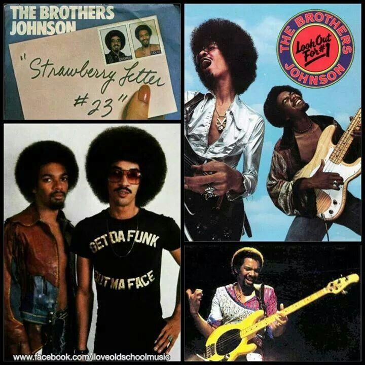 Lyric lyrics to strawberry letter 22 : 31 best The Brothers Johnson images on Pinterest | Louis johnson ...