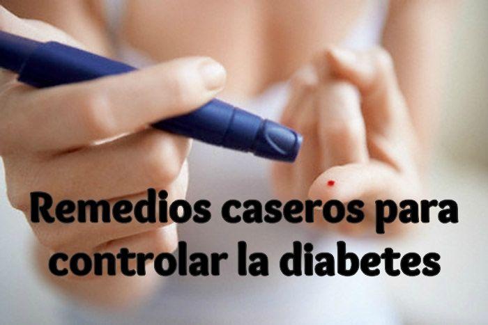 Remedios caseros para controlar la diabetes
