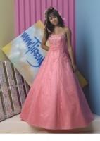 Rosa ballkjole til skoleballet til leie bestill hos www.abelone.no eller bestill prøvetime i vår butikk tlf: 456 00 746