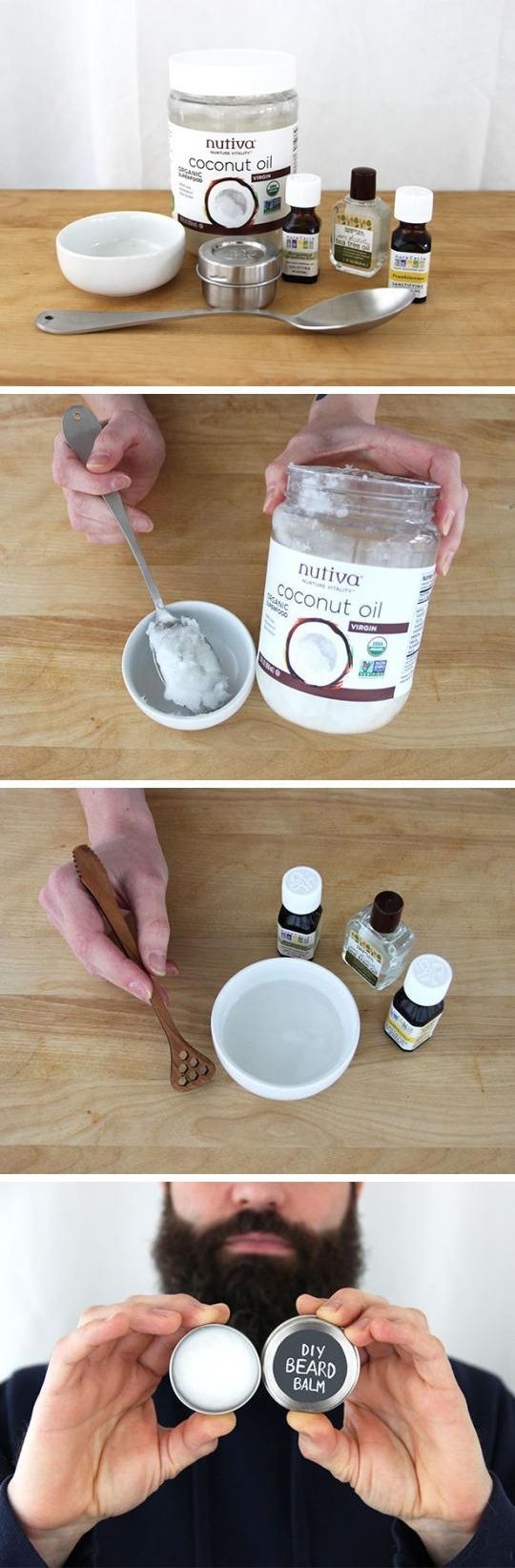 DIY Skin Care Recipes : An essential for men with beards! Take care of your bead...