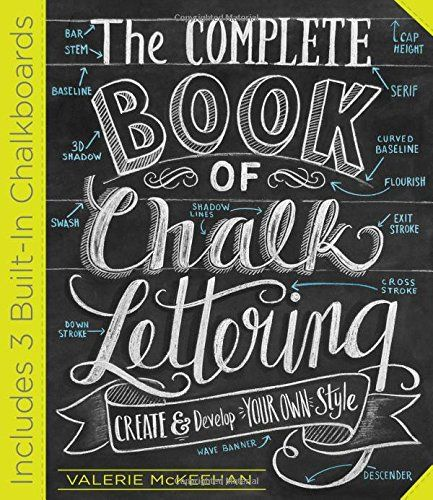 The Complete Book of Chalk Lettering: Create and Develop Your Own Style by Valerie McKeehan http://www.amazon.com/dp/0761186115/ref=cm_sw_r_pi_dp_ZuPkwb0JYXD7B