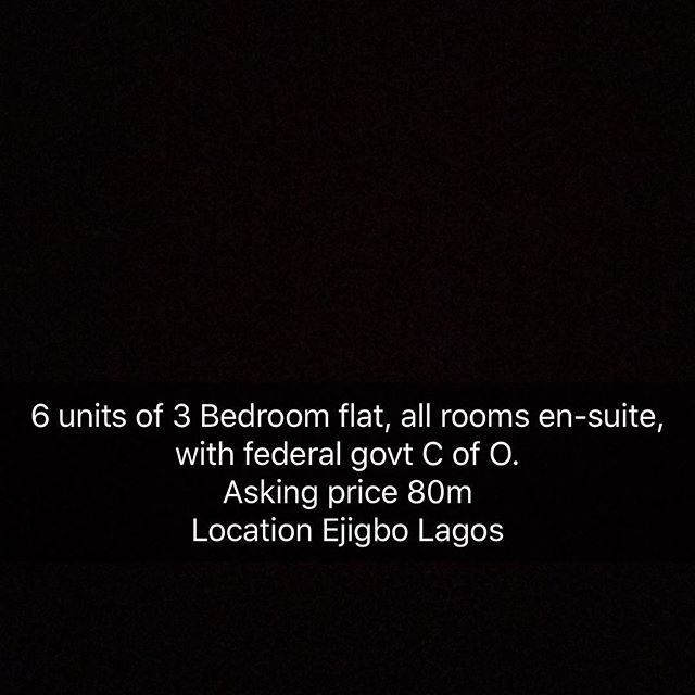 FOR SALE #property #propertyinlagos #propertyforsale #propertyagent #propertyforrent #propertyforsell #propertyforlease #luxuryrealestate #buyit #buynow #getit #cheap #realpropertyzone #pinnaclerockproperies #homeforsale #homesales #homesearch #dreamhome #beautifulhomes #townhomes #homesweethome #instahome #modelhomes #landinlagos #luxuryhomes - posted by PINNACLE ROCK https://www.instagram.com/pinnaclerock.ng - See more Luxury Real Estate photos from Local Realtors at…