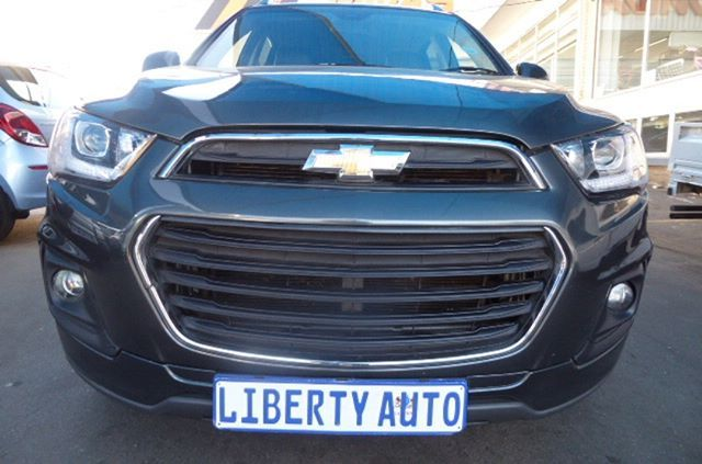 2017 Chevrolet Captiva 2 2d Lt 135kw Auto 15000km 7 Seater New Shape Suv Automatic Transmission Diesel Turbo Eng Chevrolet Captiva Suv Automatic Transmission
