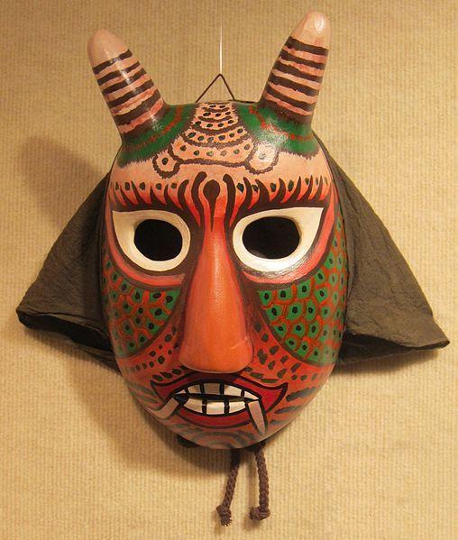 Korean Mask   File:Korean mask of Bibi (Spirit of the Air).JPG - Wikimedia Commons