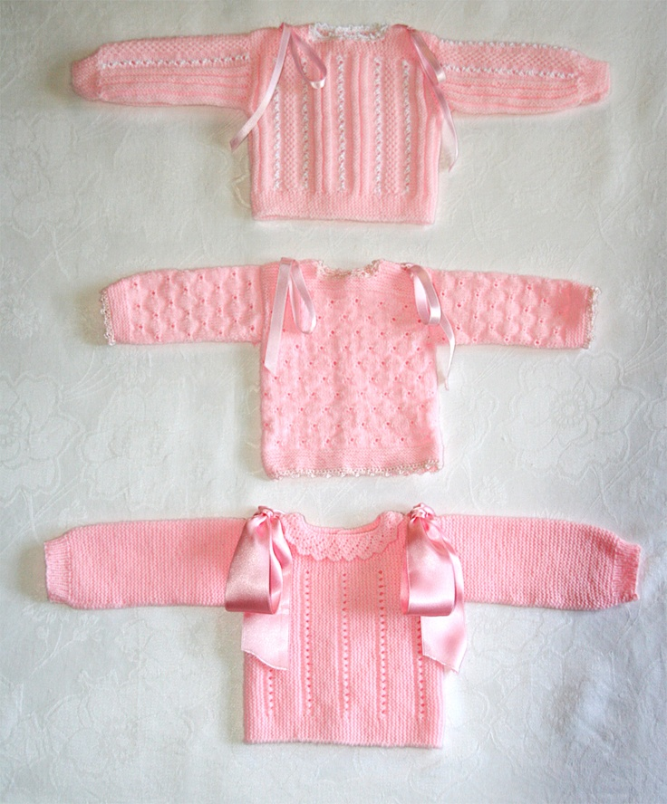 3 jerseis rosas