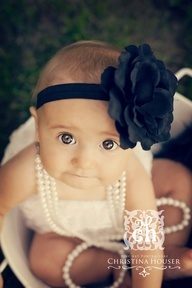 6 month baby girl photo ideas - Google Search