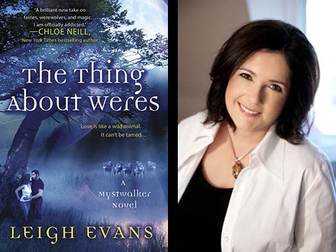Win 1 of 3 copies of The Thing About Weres by Leigh Evans - open to US/CAN Ends 8/17