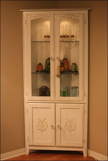 distressed curio cabinet 11 best corner units images on corner unit 14850