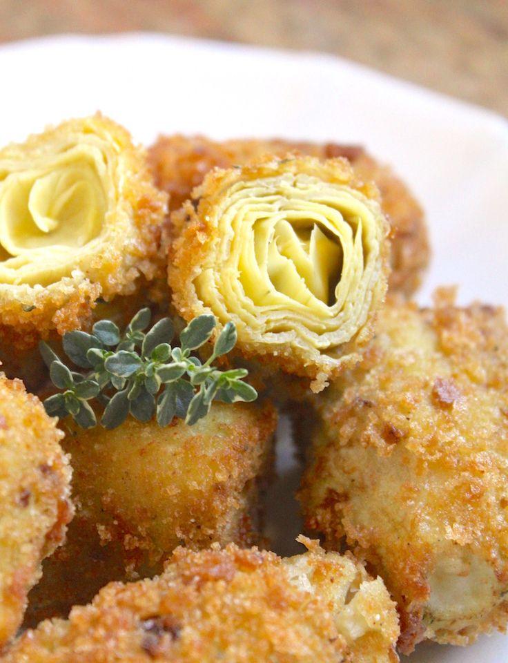 Crispy Fried Artichoke Hearts