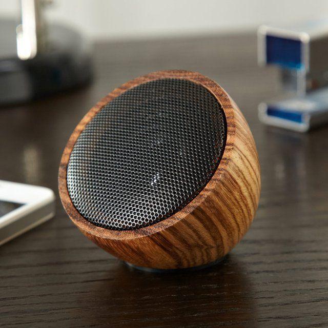 Rock On Wood Portable Bluetooth Speaker Cool Speakers