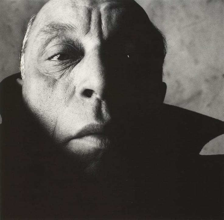 Irving Penn  American, 1917–2009  Louis Jouvet (A), New York, January 1951