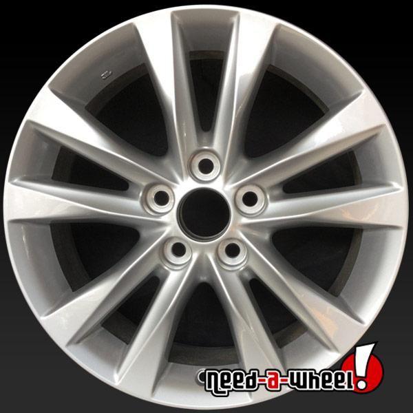 2010 2012 Lexus Es350 Oem Wheels For Sale 17 Silver Stock Rims
