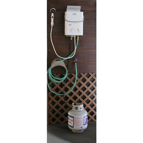 Hook up propane tank to water heater-in-Syrup