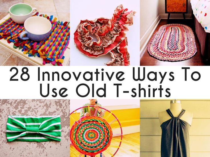 old t shirt crafts | Get updated when Homemade Home Ideas publishes a new post. Like us on ...