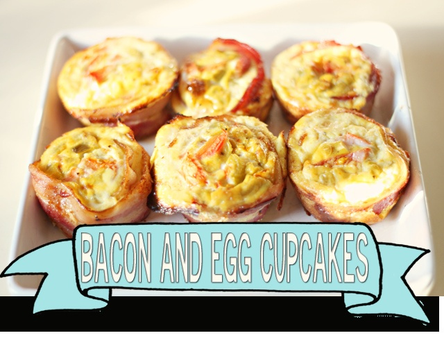 #Bacon Egg #Cupcales by IROCKSOWHAT, via Flickr  http://www.irocksowhat.com/2011/12/bacon-and-egg-cupcakes.html#