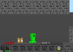 Juegos Minecraft.es - Juego: Creep Craft - Jugar Juegos Gratis Online Flash