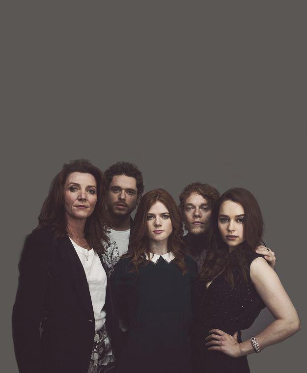 Game of Thrones cast #RoseLeslie