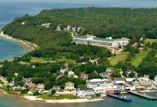 Mackinac Island! I've lived in MI since 1981 and have never been to Mackinac.....but then again I lived in Milwaukee, WI for 32 yrs and never went to a brewery...there were at least 5 of them!
