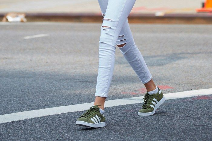 15 Fantastic and Latest Sneakers Trend 2017 for Girls - SheIdeas