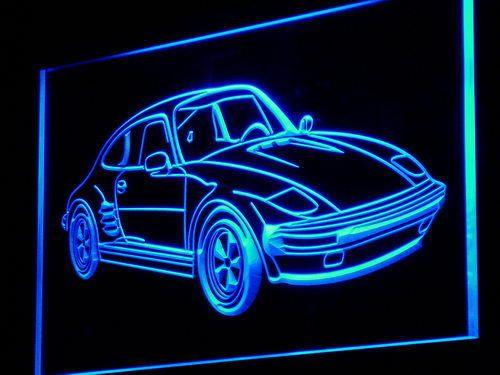 m013-b Race Racing Sport Nascar Car Bar Neon Light Sign #AdvProSign