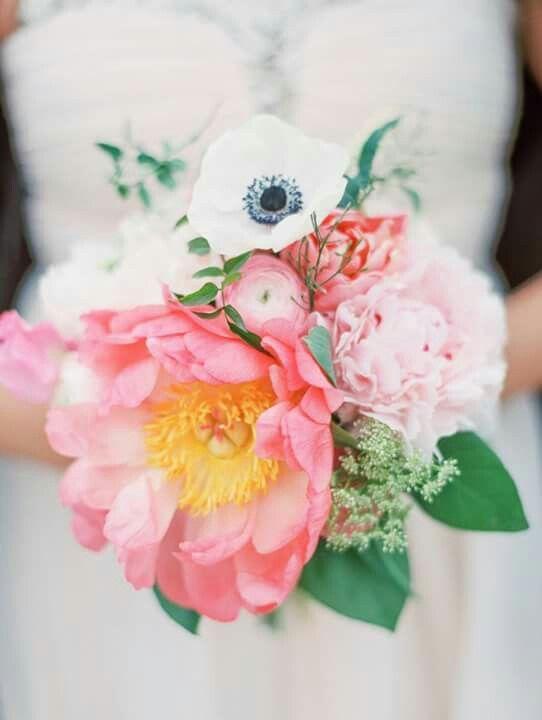 Bouquet papavero bianco