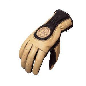 Guantes Bultaco Heritage, el toque vintage de bultaco, ergonomia y tacto de lo más suave, en piel arena. www.relojes-especiales.net #guantes #moto #motocicleta #vintage #bultaco