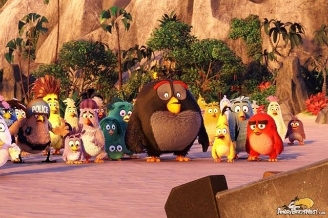 Angry Birds Movie Characters: Angry Birds The Movie Characters 2