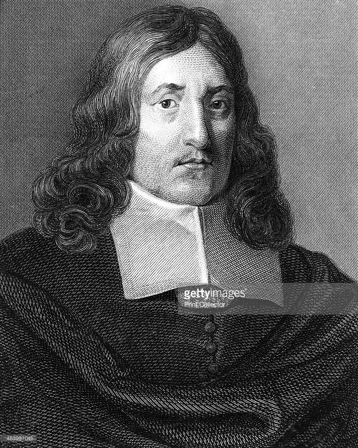 John Milton, 17th century English poet, (1820). Milton's (1608-1674) most famous work is his epic Paradise Lost, first published in 1667. He became totally blind in about 1652.