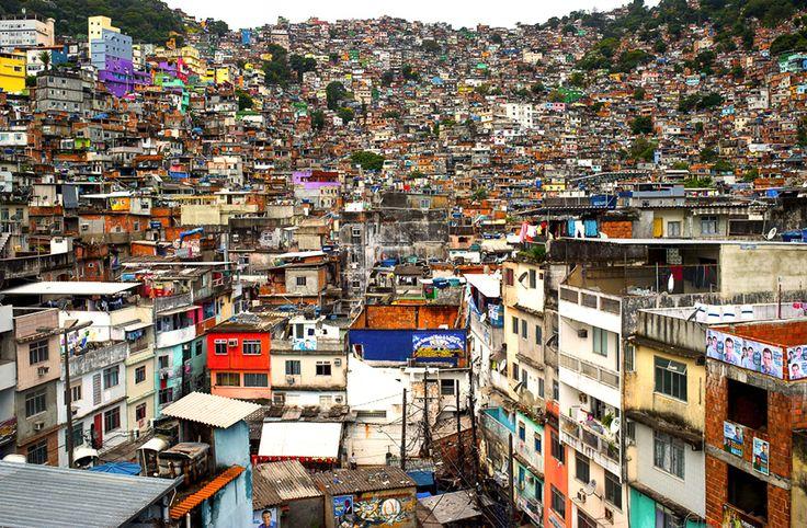 Rocinha Favela, Rio De Janeiro, Brazil By Joe Capra