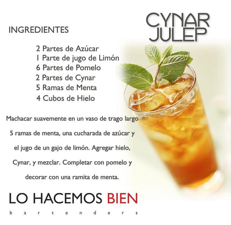 Cynar Julep - Festejá con Estilo! de LO HACEMOS BIEN bartenders Como preparar un Cynar Julep - Recipie How to prepare a Cynar Julep - Party with style!