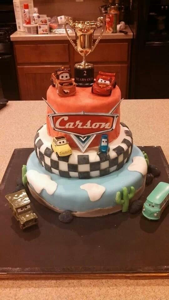 Birthday 3Rd 2Nd Cars Ideas