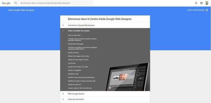 Aujourd'hui le BlogDuWebdesign vous propose de jeter un oeil à un logiciel gratuit disponible en bêta :Google Web designer