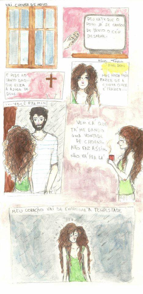 Santa Chuva - Marcelo Camelo Por: desembola (Clara Dias) e deescabelada