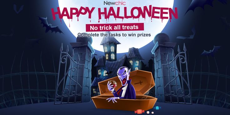 Happy Halloween! Share to collect more candies and win prize!