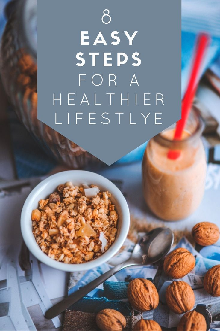 Check out these 8 steps to a healthier lifestyle and find yourself more energised in no time.