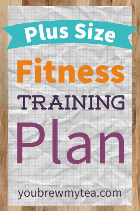 Fitness Training is a must for anyone wanting to lose weight.  This Plus Size Fitness Training Plan is ideal for larger women needing to shed pounds safely!