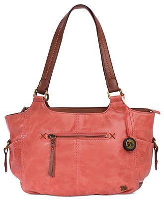 Kendra Leather Shoulder Bag