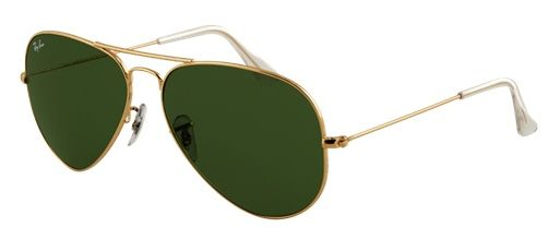 real ray ban aviator sunglasses gold frame crystal green lens is the most  fashionable for you 91621094b7e93
