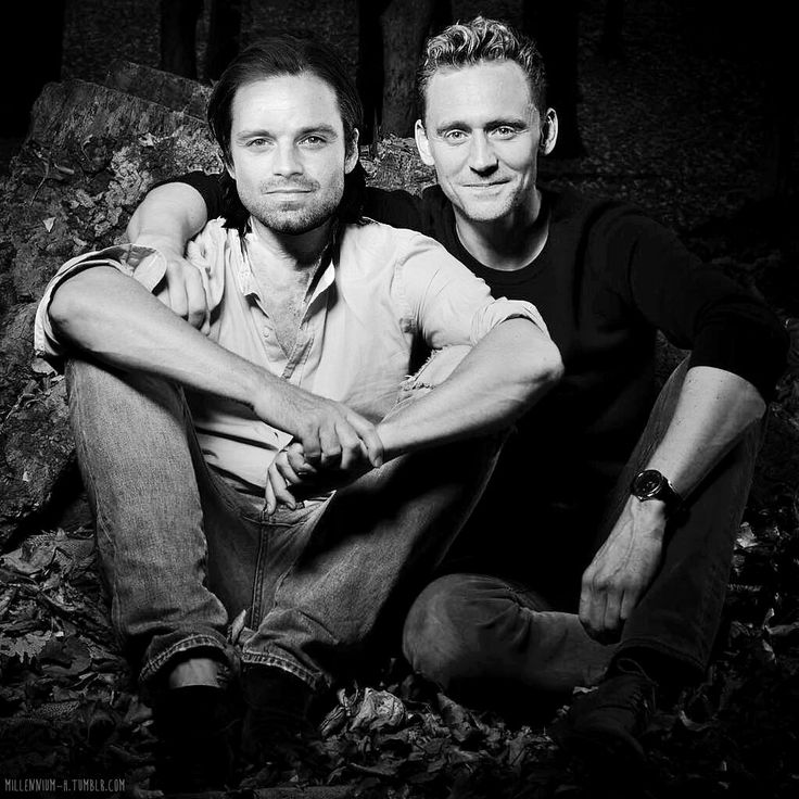This is too much hansome-ness for one picture!!! Two of my fav misunderstood marvel characters!