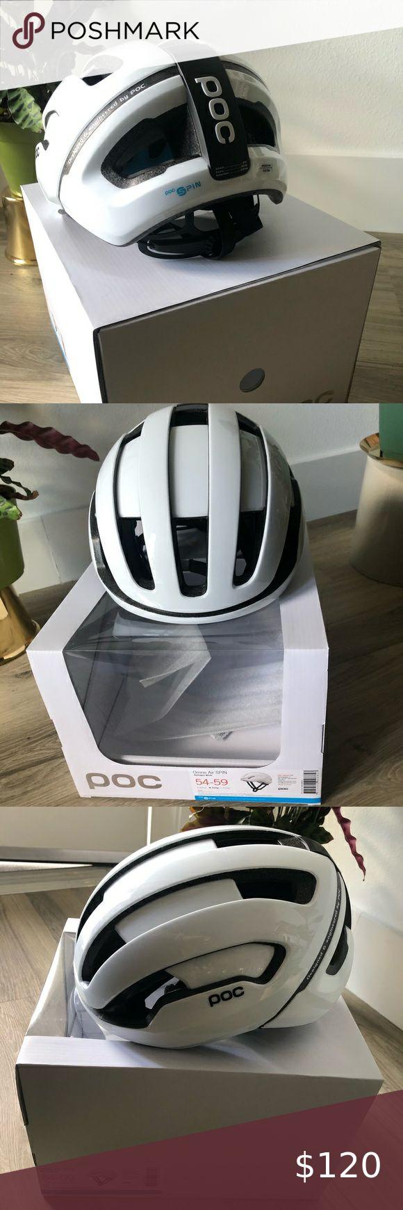 POC OMNE AIR SPIN HELMET size medium in 2020 Helmet