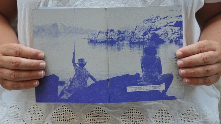 """Llibreta """"S'Illot 1966"""" dins la col.lecció """"Una història romàntica a Mallorca"""" www.srferrer.com"""