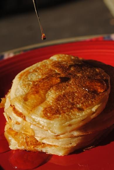 Greek Yogurt Pancakes | Hors d'ueuvre Recipes | Pinterest