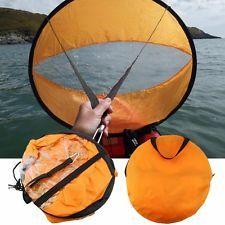 "108CM Wind Sail Paddle Board Kayak Downwind Popup Kayak Sail Accessory PVC 42"""