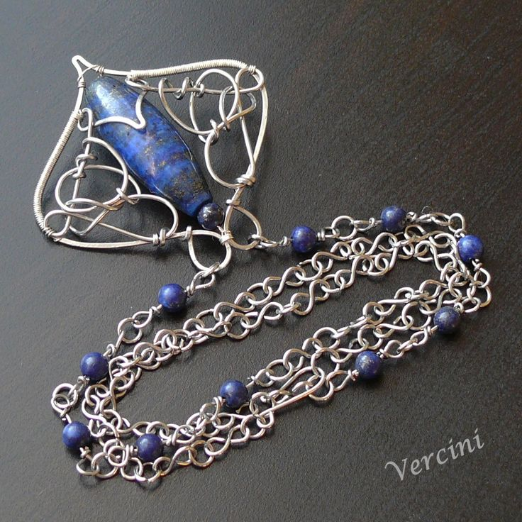 Modré srdce :: Handmade by Vercini