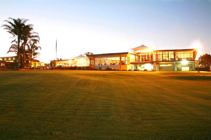 Dusk at Wyong Golf Club