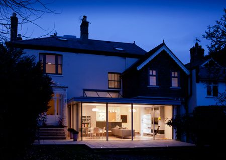 Terraced house extension to the rear