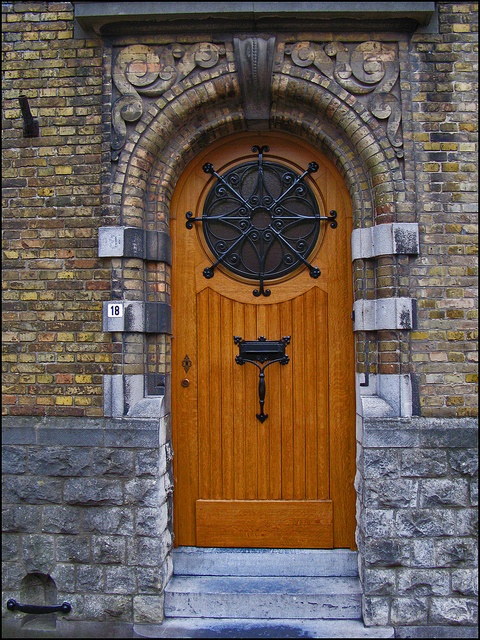 Door by Blackburn lad1 via Flickr Damn thatu0027s really cute & 549 best extraordinary vintage doors images on Pinterest | French ...