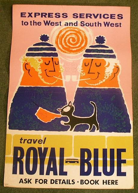 Travel Poster. Daphne Padden.