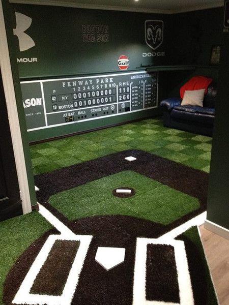 Boston Red Sox Man Cave – Fenway Park